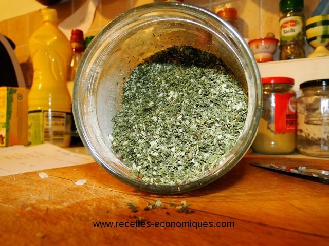 Mon sel aux herbes de provence fait maison avec thermomix - Mon thermomix ne pese plus ...
