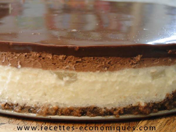 Bevorzugt Bavarois poires chocolat au thermomix: une réussite à partager QW73