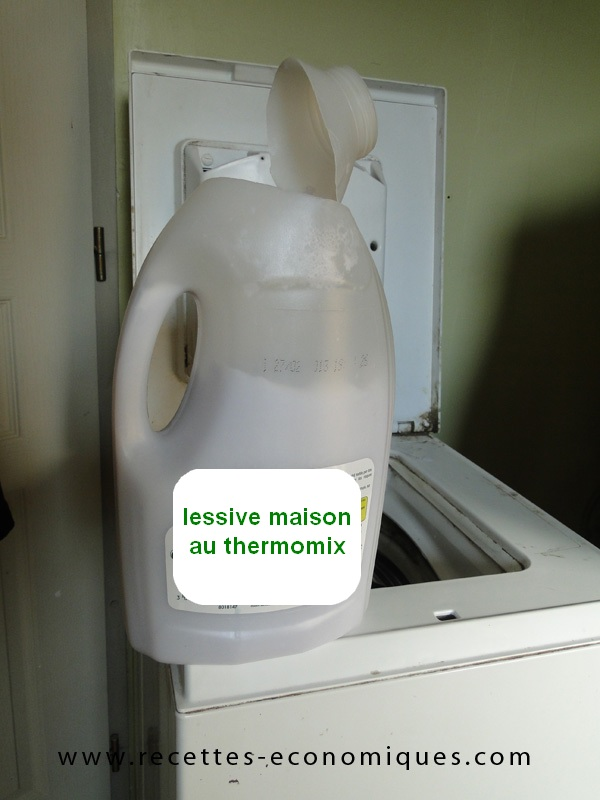 recette de la lessive maison au thermomix. Black Bedroom Furniture Sets. Home Design Ideas