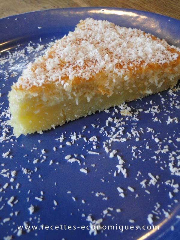 Gateau noix coco thermomix recettes de cuisine avec thermomix ou pas - Recette dessert rapide thermomix ...