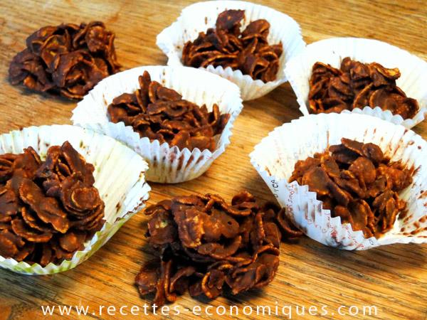 Recette Des Roses Des Sables Au Beurre Et Chocolat Miam