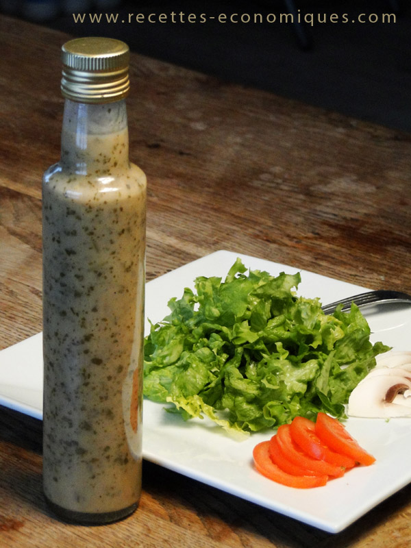 recette de la vinaigrette all g e au thermomix sauce salade ww. Black Bedroom Furniture Sets. Home Design Ideas