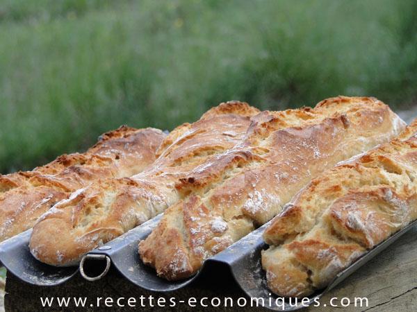 Baguettes maison contre baguettes industrielles recettes for Baguette du maison