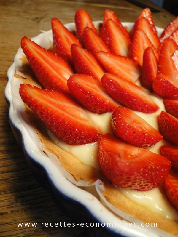 tarte aux fraises comme chez le patissier au thermomix. Black Bedroom Furniture Sets. Home Design Ideas