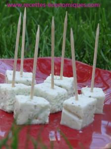 cubes fromage agar agar facile