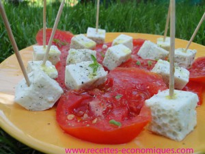 cubes fromage agar agar original