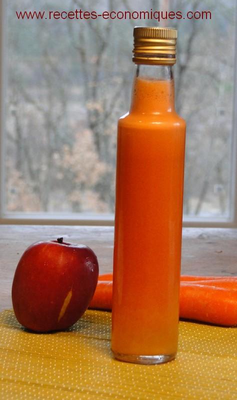 Jus De Fruits Maison Carottes Et Pommes Ou Pamplemousse