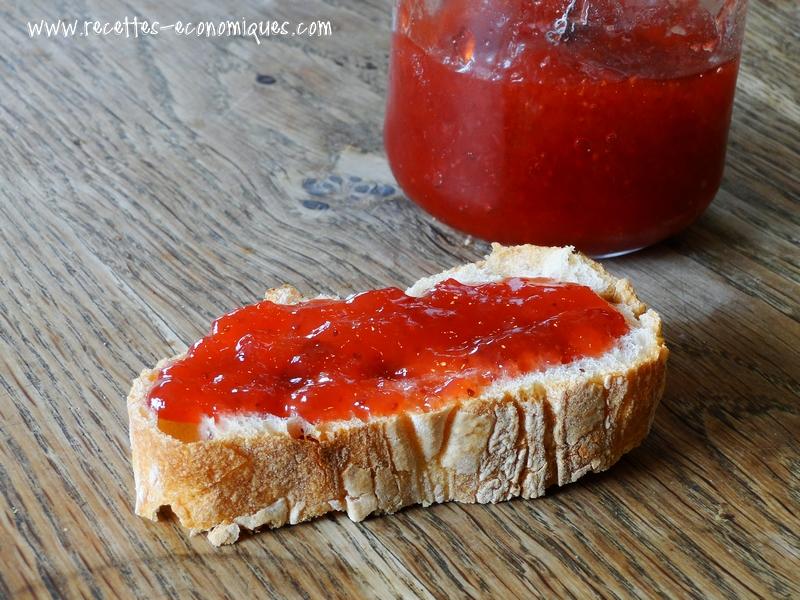 confiture de fraise agar agar thermomix