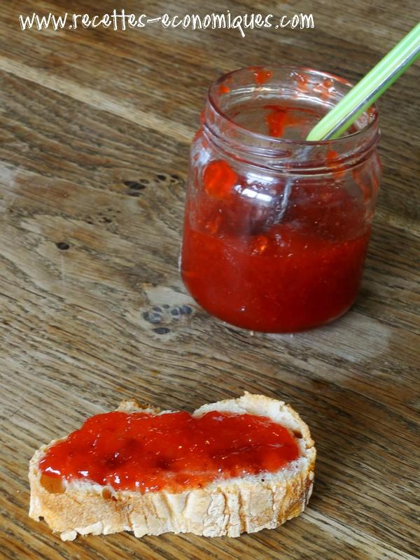 confiture de fraise thermomix sans morceaux