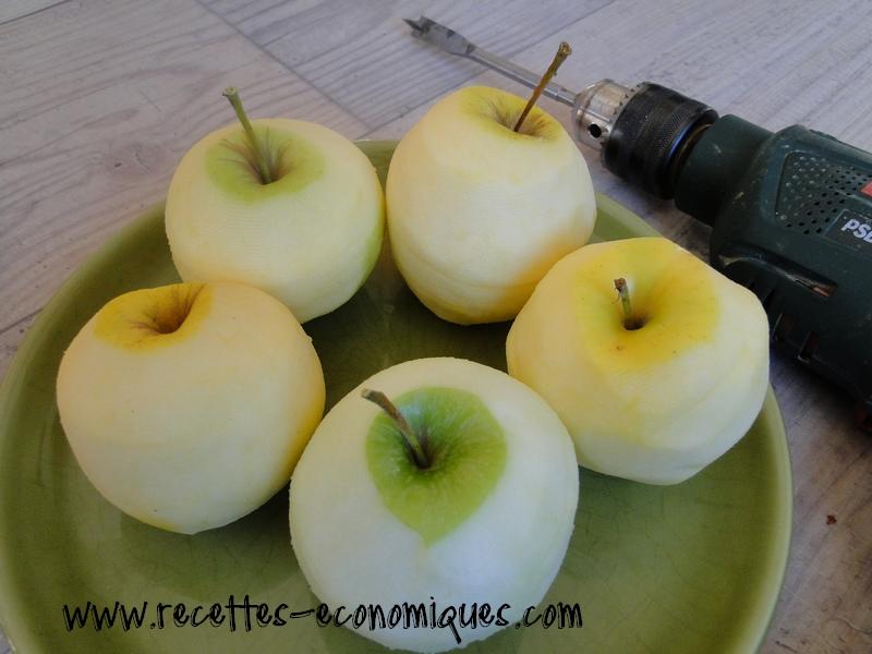 eplucher pomme