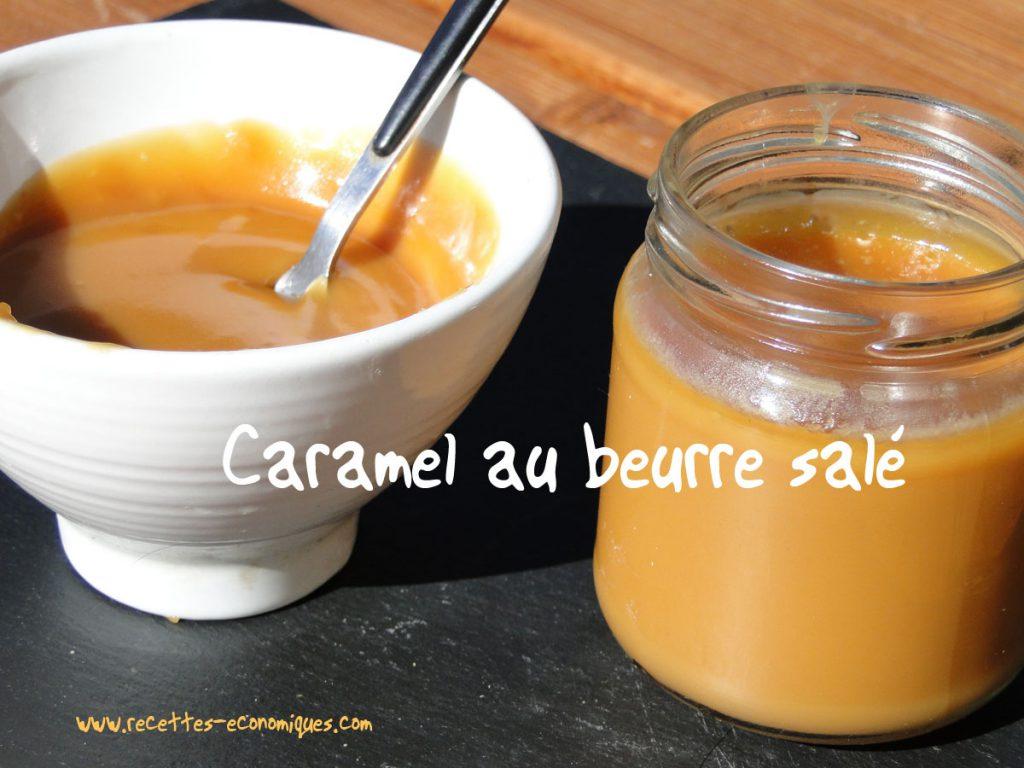 Caramel au beurre sal recettes de cuisine avec thermomix ou pas - Recette caramel beurre sale breton ...