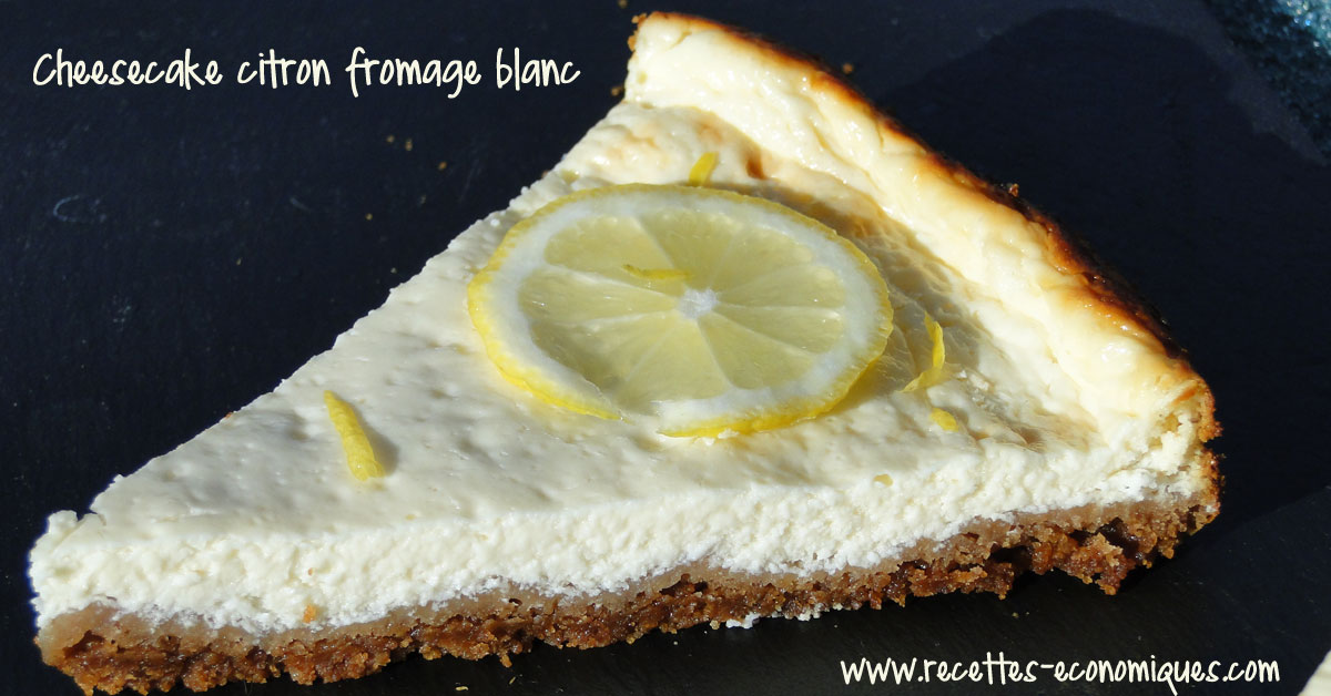 Cheesecake Speculoos Citron Au Fromage Blanc 0 Recettes De