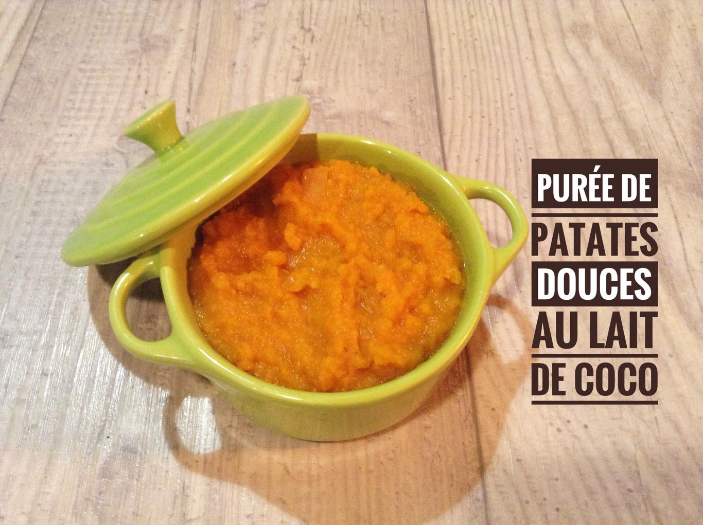 Puree De Patates Douces Au Lait De Coco Recettes De Cuisine Avec