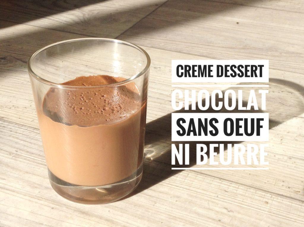 cr me dessert chocolat sans beurre ni oeuf recettes de cuisine avec thermomix ou pas. Black Bedroom Furniture Sets. Home Design Ideas