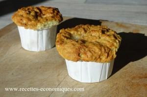 muffins roquefort noix