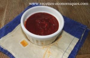 ketchup maison 1