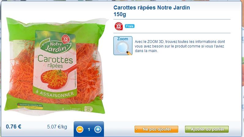 carottes leclerc